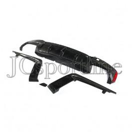 Диффузор 3D Design карбон - BMW G30 / G31 M Sport Package / M5 F90
