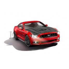 Капот Vicrez карбон - Ford Mustang VI