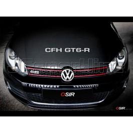 Спойлер переднего бампера Osir FCS GT6-R карбон - Golf 6 GTI