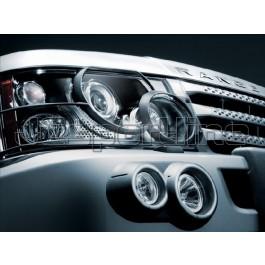 Защита передней оптики (фар) - Range Rover Sport (L320)
