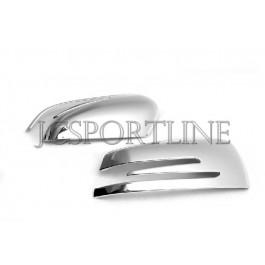 Накладки на боковые зеркала хром - Mercedes Benz W204 / W212 / X156 / X204