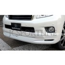 Накладка на передний бампер LX-Mode - Toyota Land Cruiser Prado 150