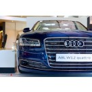 Заглушки противотуманных фар с ACC W12 - Audi A8 (D4) Facelift