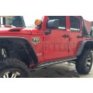 Подножки Angry - Jeep Wrangler (JK)