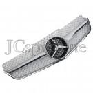 "Решетка радиатора в стиле E63 AMG ""Silver"" - Mercedes-Benz E (C207 / A207)"