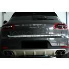 Защитная накладка крышки багажника - Porsche Macan (95B)
