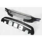 Комплект защиты бамперов с LED - Lexus RX270 / RX350 / RX450h (AL10)