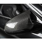 Накладки на зеркала M Performance карбон - BMW F80 / F82 / F83