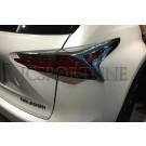 Накладки на фонари - Lexus NX