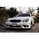 Сплиттер DTM карбон - Mercedes-Benz CLK AMG Sports Package (C209 / A209)