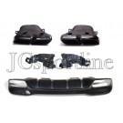 Диффузор GLE63 AMG - Mercedes-Benz GLE (W166)