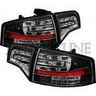 Фонари Tuning-tec черные - Audi A4 (B7)