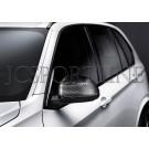 Накладки на зеркала M Performance карбон - BMW X3 / X4 / X5 / X6