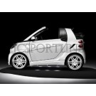 Пороги Brabus Ultimate 112 - Smart ForTwo II