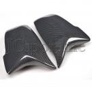 Корпуса боковых зеркал в стиле BMW M5 / M6 карбон - BMW F06 / F07 / F10 / F11 / F12 / F13 LCI