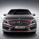 Решетка радиатора Diamond - Mercedes-Benz GLA (X156)