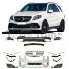 Обвес GLE63 AMG - Mercedes-Benz GLE (W166)