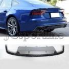 Диффузор заднего бампера рестайлинг S7 - Audi A7 (4G/C7) Facelift