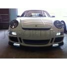 Реснички на фары карбон - Porsche Boxster / Cayman (987)