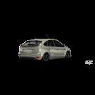 Накладка заднего бампера Rieger - Ford Focus II Hatchback Facelift