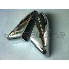 Накладки на зеркала хром - LR Discovery / LR Freelander / RR Sport (L320)
