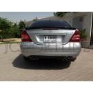 Спойлер C55 AMG карбон - Mercedes-Benz C (W203)