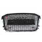 Решетка радиатора RS1 черная - Audi A1 (8X)