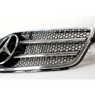 Решетка радиатора C63 AMG (Chrome) - Mercedes-Benz C (W204 / S204)