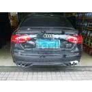 Диффузор ABT AS4 карбон - Audi A4 (B8)