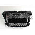 Решетка радиатора RS3 черная - Audi A3