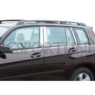 Накладки на дверные стойки Schatz - Mercedes Benz GLK-klasse (X204)