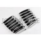 Накладка хром на решетку радиатора - BMW X1 E84