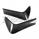Реснички на задний бампер карбон - BMW F80 / F82 / F83