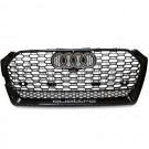 Решетка радиатора RS5 Quattro черная - Audi A5 / S5 (8W/B9)