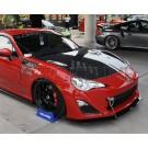 Капот OEM карбоновый - Toyota GT86
