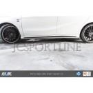 Пороги RevoZport RZA 290 карбон - Mercedes Benz A-klasse AMG (W176)