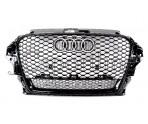 Решетка радиатора RS3 Quattro (Full Black) - Audi A3 (8V)