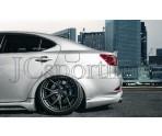 Накладка на задний бампер JP Vizage - Lexus IS (XE20)