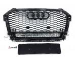 Решетка радиатора RS1 Quattro (Black) - Audi A1 (8X) Facelift
